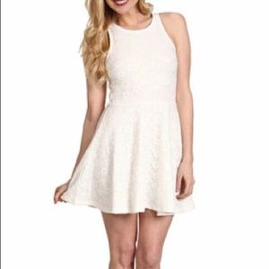 Minkpink Lace Skater Dress